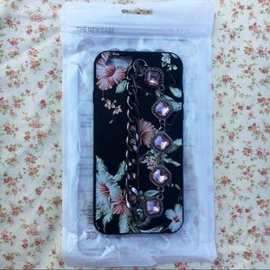NWT Floral Chained & Gemmed iPhone 5 Case